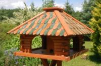 vogelhaus mit standfuss. Black Bedroom Furniture Sets. Home Design Ideas